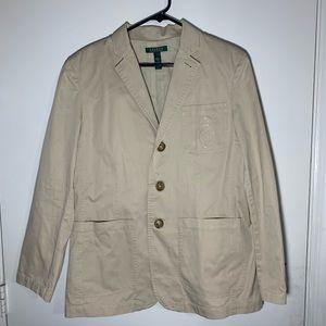 Ralph Lauren beige blazer/coat